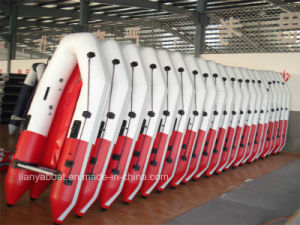 Liya Dinghy Inflatable Boat PVC Tender pictures & photos