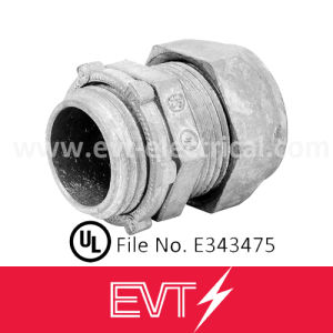 UL Standard Zinc Die Cast Compression EMT Connector pictures & photos