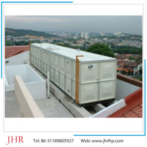 GRP FRP Fiberglass Sectional Assembling SMC Panel Water Storage Tank pictures & photos