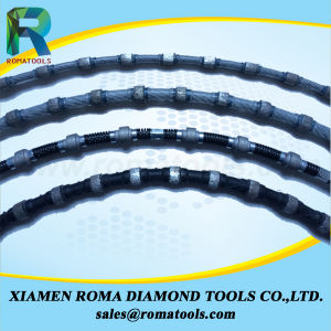 Romatools 10.5mm Diamond Wires for Granite Marble/Quarrying/Block Cutting pictures & photos