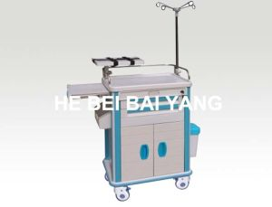 B-93 Luxury ABS Emergeny Trolley with Green and White Color
