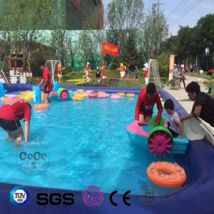 Inflatable Dolphin Cartoon PVC Pool for Outdoor Waterplay LG8100 pictures & photos