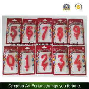 Hot Sale Birthday and Party Cake Candle --Number Shape Candle pictures & photos