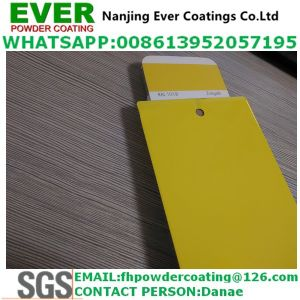 Electrostatic Smooth/Matt Spray Ral1018 Powder Coating pictures & photos