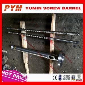 Bimetalic Screw Barrel for PP PE Extruder pictures & photos