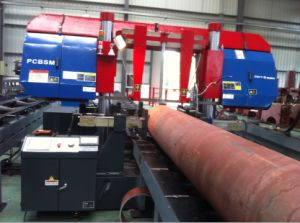 Numerical Control Pipe Cutting Band Saw Machine pictures & photos