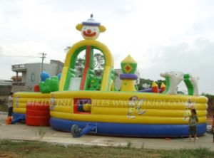 Obstacle Course, Interactive Games, Inflatable City (B5004) pictures & photos