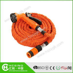 Expandable Clear Garden Hose, Garden Hose with Plug 25FT 50FT 75FT 100FT Are Available