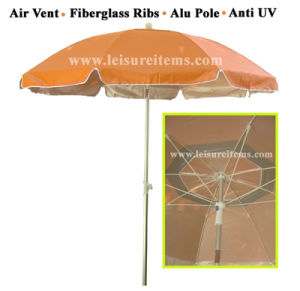 Fiberglass Beach Parasol with UV Protection (OCT-BUANF06) pictures & photos