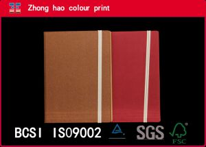 Professional Custom PU Leather Notebook with Ribbon (150531002)