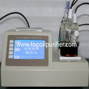 Karl Fischer Coulometric Ppm Water in Oil Moisture Meter (TP-2100) pictures & photos