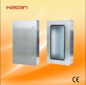 Plexiglass Door + Inner Door Stainless Steel Distribution Box (IP66) pictures & photos