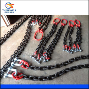 G80 Forged Two Legs Chain Sling/Lifting Sling with Shackle, Ring pictures & photos