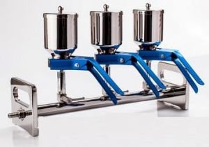 MVF-3S 3-Branch Stainless Steel Funnel Manifolds Filter pictures & photos