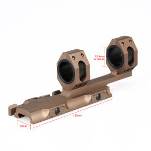 Airsoft Gun Tactical Double Ring Scope Mount pictures & photos