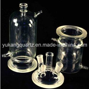 Quartz Glass Reactor with Neck/Mouth pictures & photos