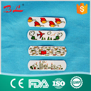 100PCS Waterproof Spot Cartoon Cute Kids Band Aid Adhesive Bandages First Aid pictures & photos