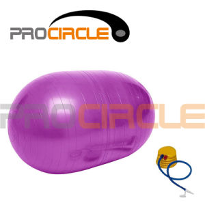Physical Gym Roll Ball Yoga Exercise Ball with Pump (PC-YB4005) pictures & photos