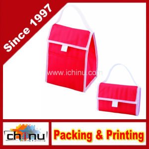 Non Woven Foldable Insulated Cooler Lunch Bag (920073) pictures & photos