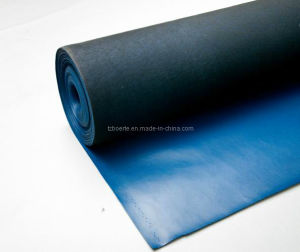 ESD/Anti-Static PVC Leather Blue Color for Chair