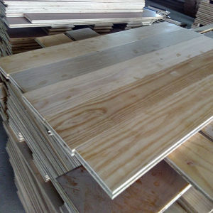 Natural Color and High Quality Russian Oak Engineered Parquet Flooring pictures & photos
