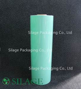500mm*1800m*25mic Green Silage Wrap Film for Round Bales of Silage pictures & photos