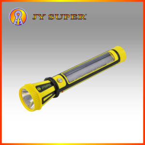 Jy Super 1W+0.5W LED Rechargeable Solar Torch for Camping (JY-9797)
