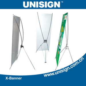 Unisign Printed X Banner pictures & photos