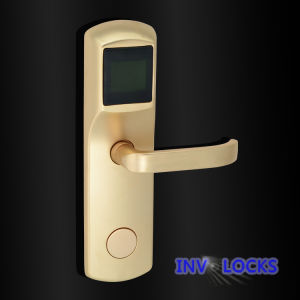Electric Hotel Card Lock (RF-INV9001-CG) pictures & photos
