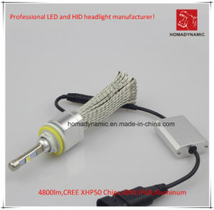 Emark DOT Ce Certifictes of LED Car Light/LED Headlight/LED Work Light H8 4800lm pictures & photos