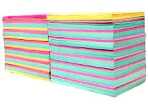 Color Writing and Printing Paper