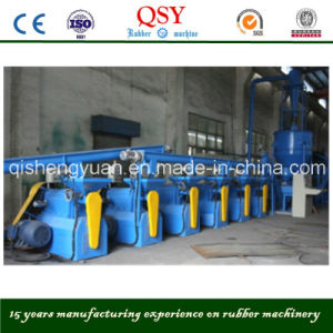 Fine Rubber Powder Grinding Machine for Tyre Recyling Line pictures & photos