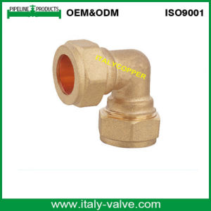 OEM&ODM Quality Brass Forged Compression Equal Elbow (AV7008) pictures & photos