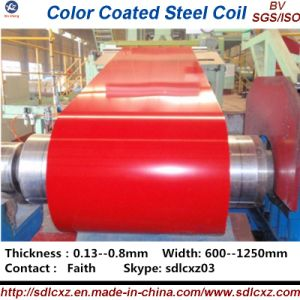 (0.14--0.8mm) PPGI Building Material Prepainted Color Coated Galvanized Steel pictures & photos