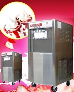 China Soft Ice Cream Machine with Precooling System (CE) pictures & photos