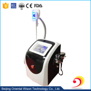 Portable 3 in 1 Cryolipolysis RF Cavitation Beauty Care Equipment pictures & photos