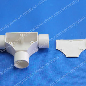 Electrical PVC Tee Coupling with Cover pictures & photos