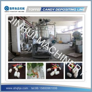 Full Automatic Depositing Type Toffee Candy Machine Production Line pictures & photos