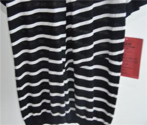 Fashion Cotton Viscose Striped Men Sweater pictures & photos