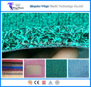 New Design PVC Coil Car Mat with Firm Backing pictures & photos