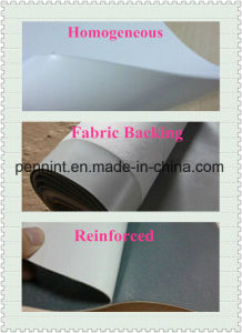 60 Mil Thickness Fleece-Backed Tpo Waterproof Membrane with ISO pictures & photos