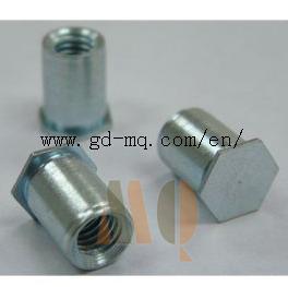 CNC Turning Self Locking Screw Parts (MQ1050) pictures & photos