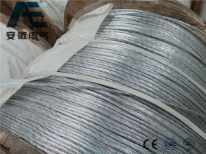 Alumoweld Aluminum-Clad Steel Overhead Wire, ASTM Ground Wire, Alumoweld Power Cable pictures & photos