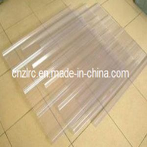 FRP Clear Corrugated Fiberglass Roof Panels Transparent Plastic Sheets pictures & photos