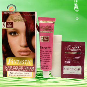 Fantastic Hair Color Burgundy 30ml*2+5ml pictures & photos