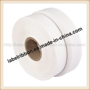 Single Side Pearl Coated Polyester Taffeta Ribbon (PT1302) pictures & photos