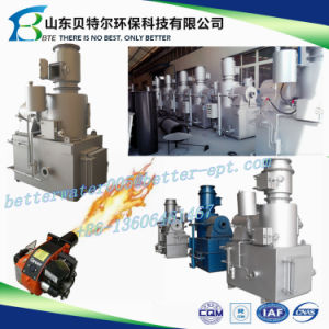 850-1400 Celsius, High Temperature Waste Incinerator, 3D Video Guide pictures & photos