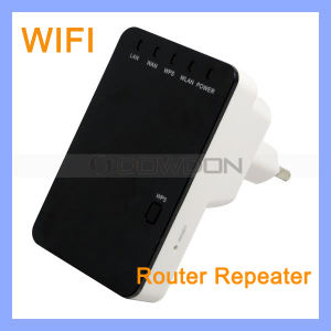IEEE 802.11n 802.11n 802.11b WiFi Repeater 300Mbps Wireless Router pictures & photos
