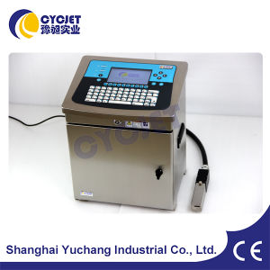 Cycjet Date Number Printer for Plastics Bottles pictures & photos