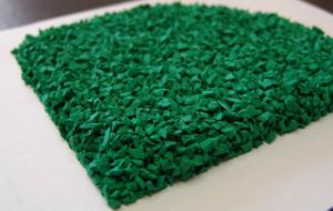 Green EPDM Granules